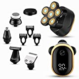 Electric Razors for Men Electric Shaver Men 6 in 1 Rechargeable...