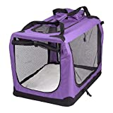 AVC Portable Soft Fabric Pet Carrier Folding Dog Cat Puppy Travel...