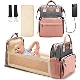 Baby Changing Bag Backpack Multifunctional Diaper Bag Nappy...