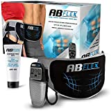 ABFLEX Ab Toning Belt for Developed Stomach Muscles, Remote for...