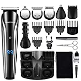 MIGICSHOW Hair Clippers Beard Trimmer for Men Rechargeable...