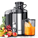 EASEHOLD Fruit Juicer Professional Whole Vegetable Extractor 600W...
