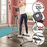 Physionics Cross-Trainer with LCD Display - Heart Rate Sensor and...