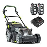 Murray 2 x 18 V (36 V) Lithium-Ion 37 cm Cordless Lawn Mower...