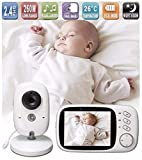 Lullaby Bay Video Baby Monitor with Camera. Anti-Hack Encryption....