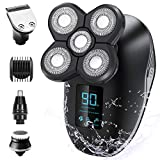 OriHea Electric Shavers for Men, 5 in 1 Wet and Dry Electric...
