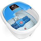 Foot Spa and Massager, Foot Bath with Auto Pedicure Massage...