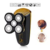 Electric Razor Bald Shaver Grooming Kit for Man with 5 Floating...