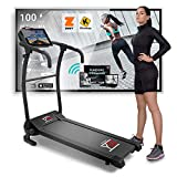Folding Electric Bluetooth Treadmill (1800 W / 2,5HP Peak),...