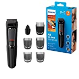 Philips 7-in-1 All-In-One Trimmer, Series 3000 Grooming Kit for...