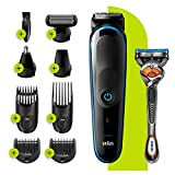 Braun 9-in-1 All-in-one Trimmer 5 MGK5280, Beard Trimmer for Men,...