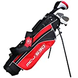 Masters Golf - Junior MC-J 530 Half Set Age 5-8 Rh Black/Red