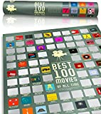 100 Movie Scratch Off Poster Top Films of All Time Bucket List by...