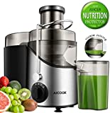 Juicer, Aicook Professional 3 Speed Juicer Extractor Whole Fruit...