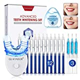 Teeth Whitening Kit- GLAMADOR Professional Teeth Whitening Gel...