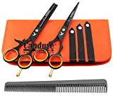 Candure Hairdressing Cutting Scissors Barber and Thinning Salon...