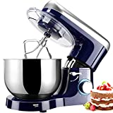 Stand Mixer, Elegant Life 6 Speeds 1500W Tilt-Head Food Mixer,...