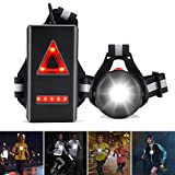 ZOOI Running Lights for Runners Chest, Running Chest Light USB...