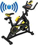 Nero Sports Bluetooth Upright Exercise Bike Indoor Studio Cycles...
