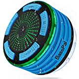 BassPal Shower Speaker, IPX7 Waterproof Portable Wireless...
