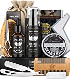 Isner Mile Beard Grooming Kit for Men, Perfect Fathers Gifts for...