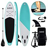 Triclicks 10ft / 3m Stand Up Paddle Boards Inflatable SUP Board...