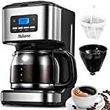 Yabano Filter Coffee Machine with Insulated Jug 1.8L, Timer...