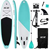 10ft / 3m Inflatable Stand Up Paddle Board | Inflatable SUP Board...