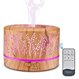 Oil Diffusers,500ML Essential Oil Diffusers for Aromatherapy,...