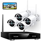 【2021 Upgraded】Wireless CCTV Camera System, Victure 8CH NVR...