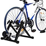 COSTWAY Fluid Bike Trainer Stand, Indoor Turbo Trainers with 8...