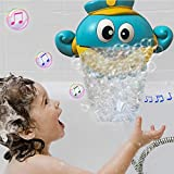 J&K Baby Bath Bubble Toy, Automatic Octopus Bubble Machine...