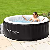 CosySpa Inflatable Hot Tub Spa – Outdoor Bubble Jacuzzi | 2-6...