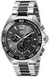 TAG Heuer Men's Analogue Quartz Watch with Stainless Steel Strap...