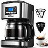 Coffee Maker, Filter Coffee Machine with Timer, 1.8L Programmable...
