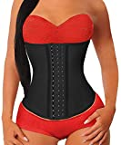 YIANNA Women Latex Waist Trainer for Weight Loss Sport Shaper...