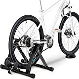 Yaheetech Magnetic Bicycle Trainer Bike Turbo Trainer Indoor...