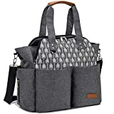 Lekebaby Baby Nappy Changing Bag Satchel Messenger Large...