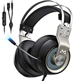 Mpow PS4 Headset Xbox One - EG3 Pro Gaming Headset Stereo...