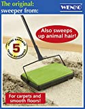 WENKO LIGHTWEIGHT CARPET & HARD FLOOR SWEEPER PET HAIR UK