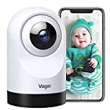 Voger Baby Monitor, 360-degree Wi-Fi Home Security Camera, PTZ...