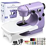 Jeteven Mini Electric Sewing Machine 2 Speed Adjustment , with...