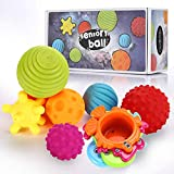 Sensory Balls for Baby- Great Variety In Texture and Color - Kids...