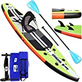 Inflatable Stand Up Paddle Board 10ft 8', All Around Paddle...