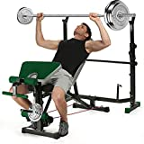 Sportstech Innovative 21in1 Weight Bench incl. Weight Plate Stand...