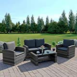New Rattan Wicker Weave Garden Furniture Patio Conservatory 2 or...