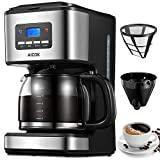 Aicok Filter Coffee Machine, 1.8 Litre Drip Coffee Maker, 60s...