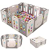 Baby Playpen Foldable 14 Panel Fence Activity Center Safety...
