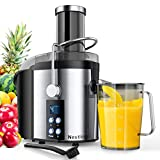 Nestling® 800W Centrifugal Juicer 4 Speed Juice Extractor Real...