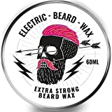 Beard Wax 60ml Moustache Wax - Electric Beard Wax! Super Hold,...